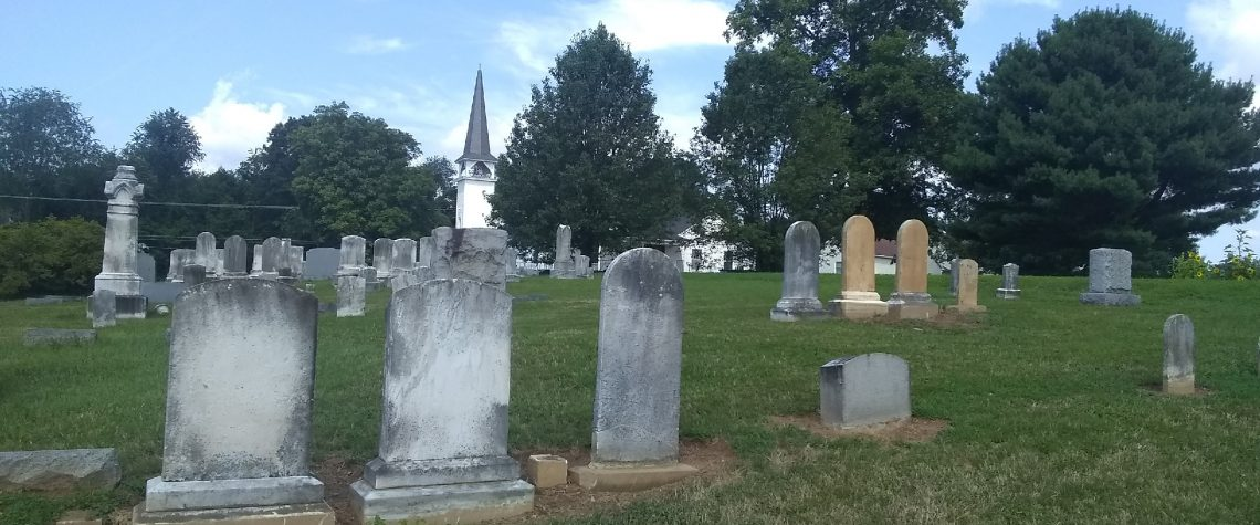 Stones that are straightened and restored
